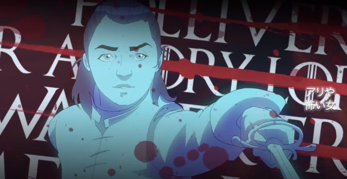 Game of Thrones Anime Intro - Morning Watch