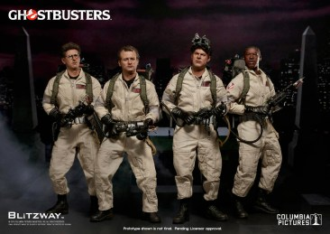 Ghostbusters Blitzway Figures