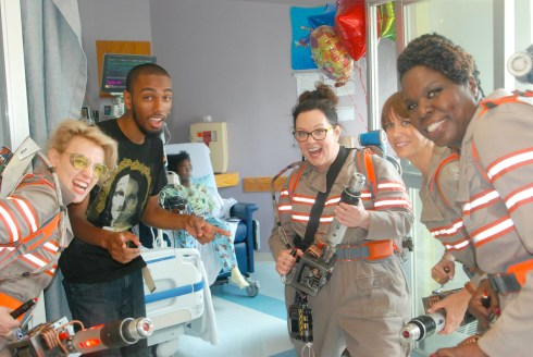 Ghostbusters reboot - Children's hospital