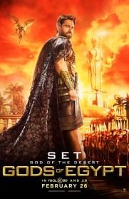 Gods of Egypt - Gerard Butler as Set
