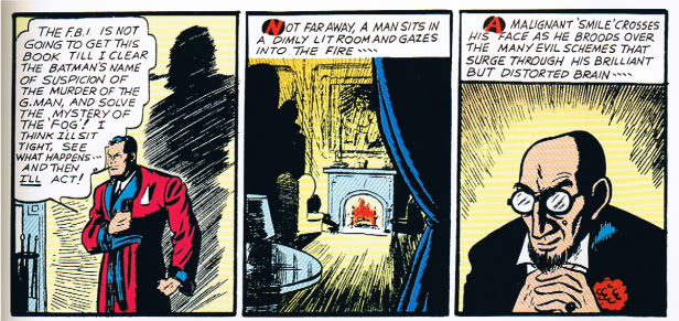 golden age batman villains