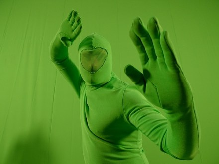green screen ninja