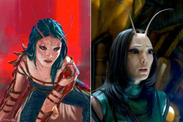 Guardians of the Galaxy 2 - Mantis Concept Art