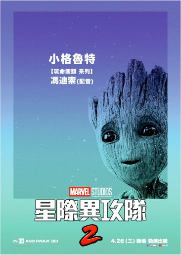 Guardians of the Galaxy 2 International Poster