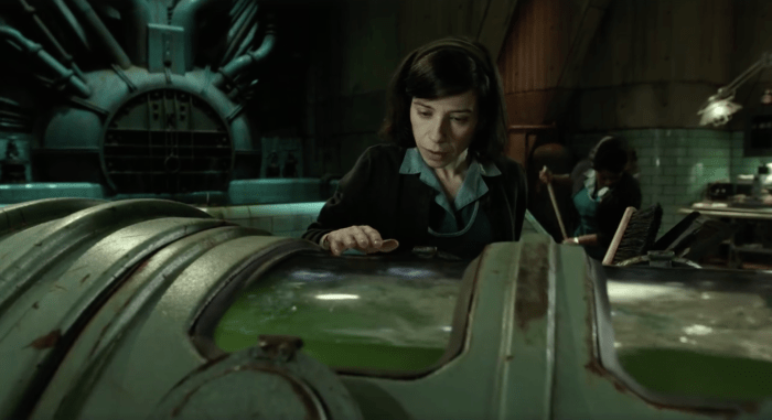 guillermo del toro projects shape of water
