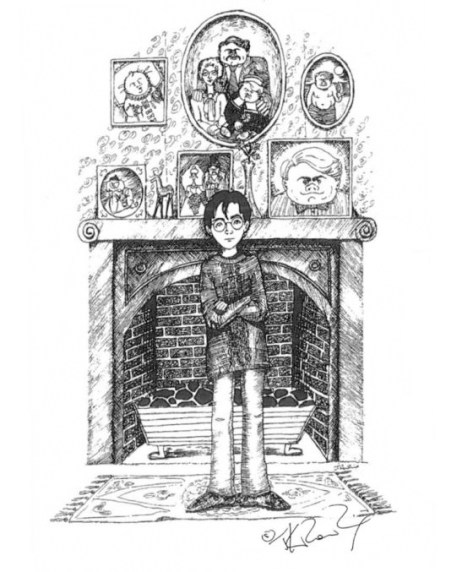 J.K. Rowling Harry Potter Sketches - Dursley House