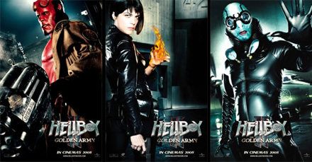 Hellboy banners