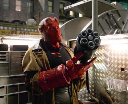Hellboy y Big Baby