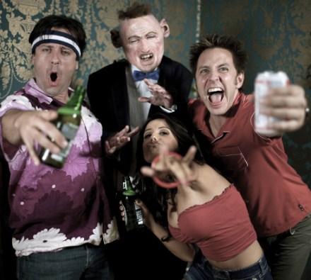 James Gunn and the Humanzee Cast