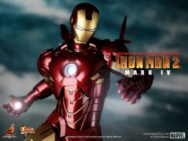 Iron Man 2 1/6th Scale Mark IV Limited Edition Collectible Figure