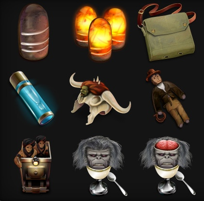 Temple of Doom Icon Set