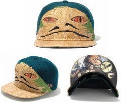 New Era Japan's 59Fifty fitted Star Wars Caps - Jabba the hutt