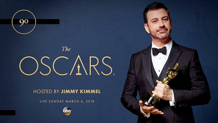 Jimmy Kimmel Hosting 2018 Oscars
