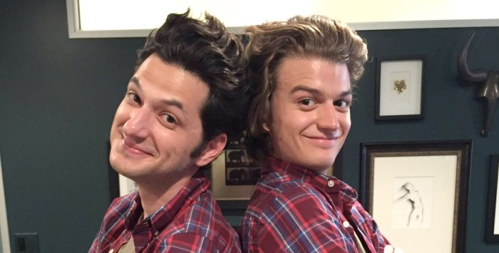 Stranger Things and Parks and Recreation - Ben Schwartz Meets Joe Keery