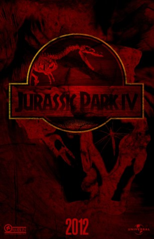 jurassic park 4 fan poster