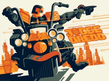Judge Dredd Print - Tom Whalen