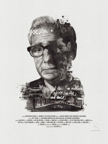 Julian Rentzsch Portrait - Martin Scorsese