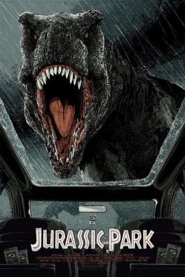 Jurassic Park Print - Kako