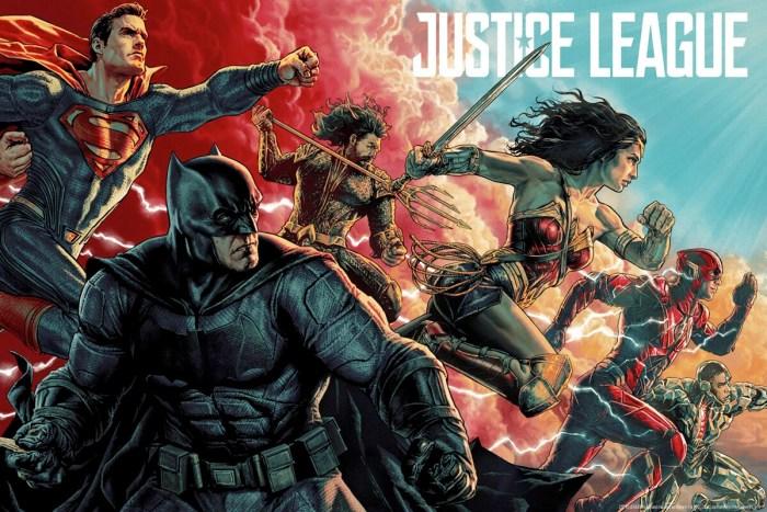 Justice League MondoCon Print