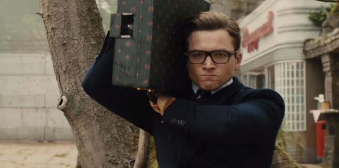 kingsman the golden circle to be projected in 270 degree format