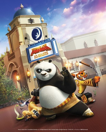 kung fu panda at dreamworks theater