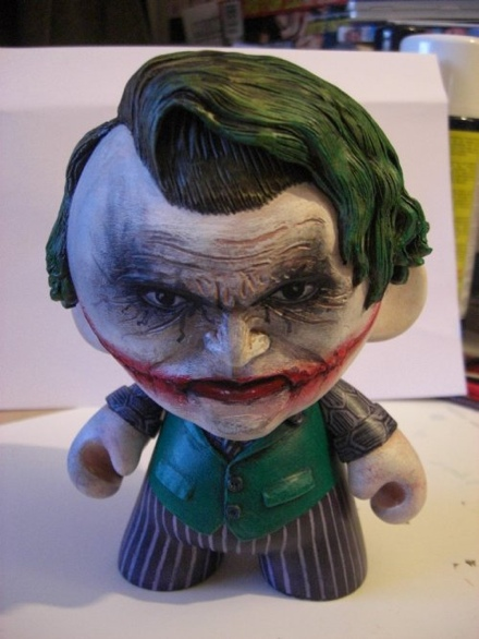Heath Ledger Joker Munny