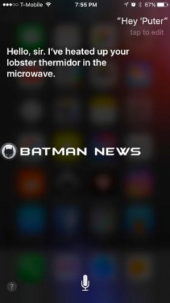The LEGO Batman Movie iPhone Easter Egg