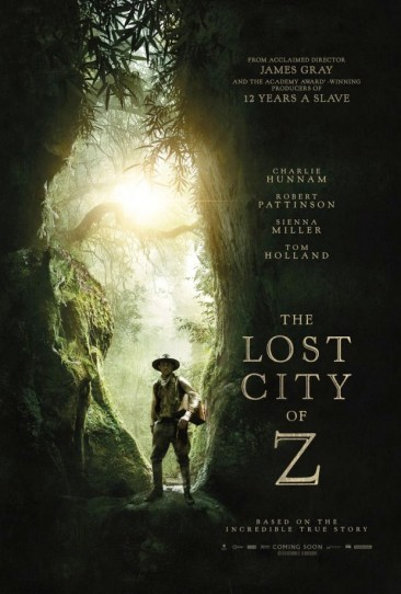 Image result for the lost city of z movie poster