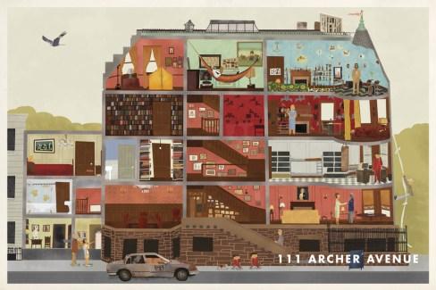 Max Dalton - Wes Anderson art
