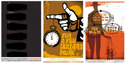 Dollars Trilogy Posters