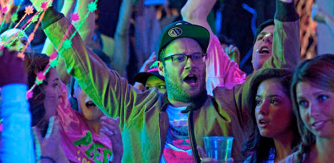 The Lonely Island Music Festival Comedy with Seth Rogen
