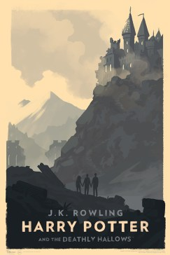 olly moss harry potter poster deathly hallows