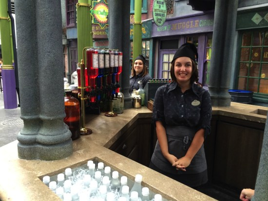 Gilly Water potion stand diagon alley