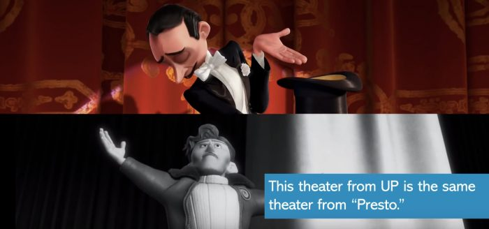 Pixar Short Film Easter Eggs