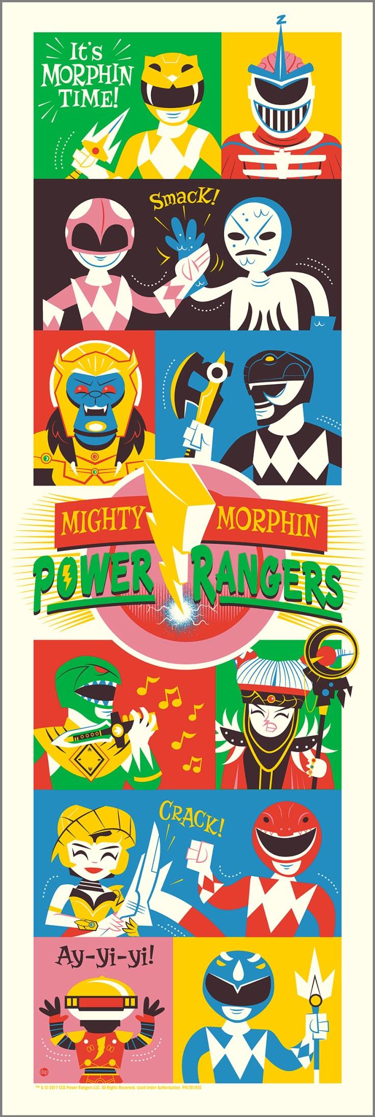 Mighty Morphin Power Rangers - Dave Perillo