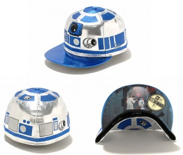 New Era Japan's 59Fifty fitted Star Wars Caps - R2D2