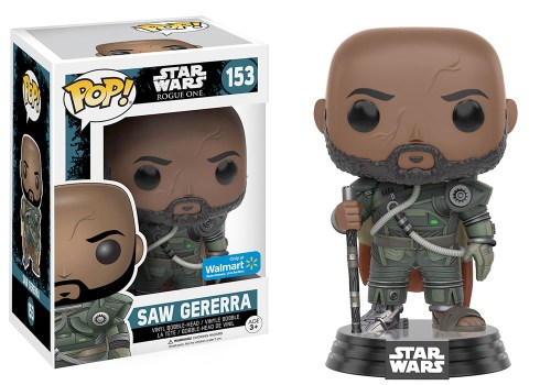 Rogue One Funko POP Vinyl - Saw Gerrera