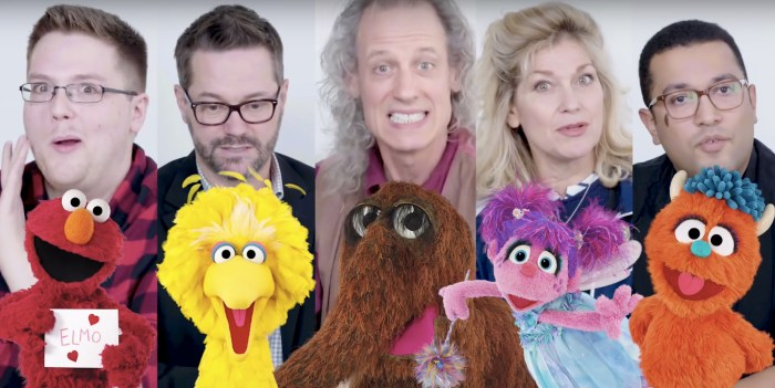Sesame Street - Puppeteers - Morning Watch