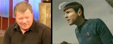 William Shatner Watches Star Trek