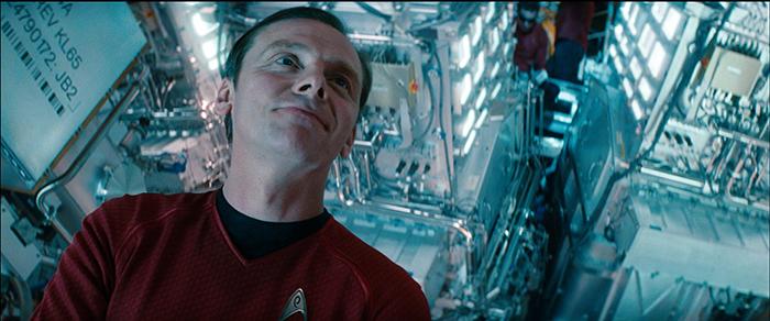 Simon Pegg writing Star Trek 3