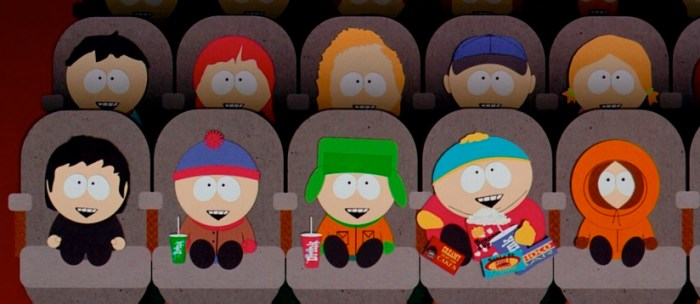 Movies Leaving Netflix - South Park
