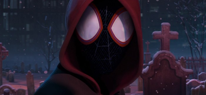 Animated Spider-Man: Into the Spider-Verse Trailer