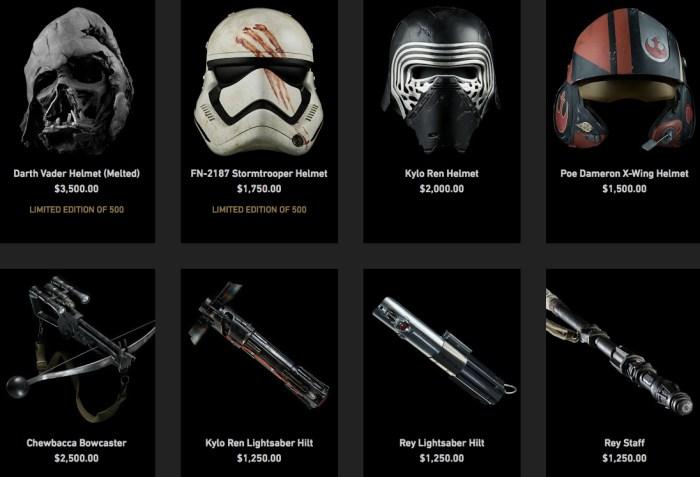 The Force Awakens Prop Replicas