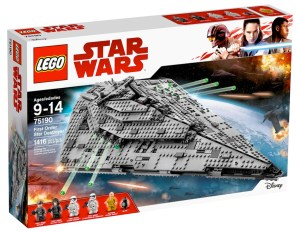 Star Wars The Last Jedi - LEGO Star Destroyer