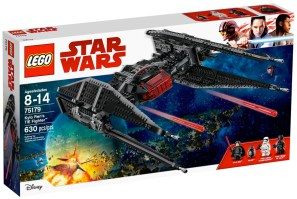 Star Wars The Last Jedi - LEGO TIE Silencer
