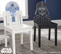 Star Wars - R2-D2 and Darth Vader Chairs
