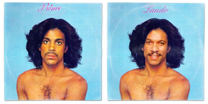 Star Wars vinyl mash-up albums - Prince