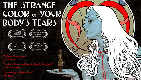 Strange Colour of Your Body's Tears US trailer