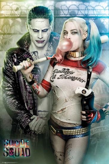 suicidesquad-harleyquinn-joker-promoposter