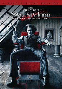 Sweeney Todd on DVD